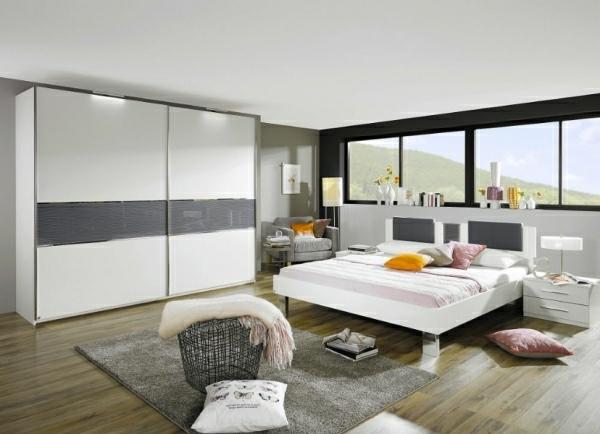Chambre Orange Et Blanche : Chambre A Coucher En Bois Blanc  chambreacouchercompleteenblanc