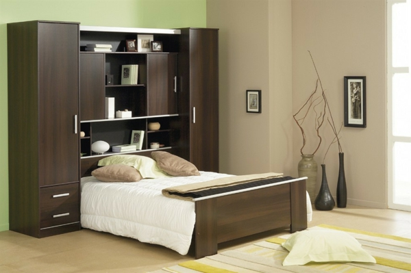 Moderne chambre coucher compl te for Jolie chambre a coucher
