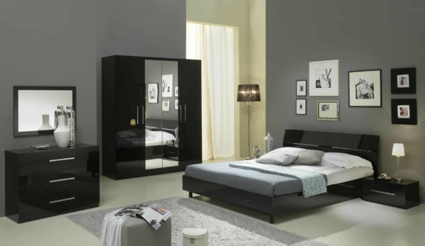 Moderne chambre coucher compl te for Acheter chambre a coucher complete