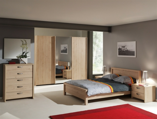 with chambre homme couleur. Black Bedroom Furniture Sets. Home Design Ideas