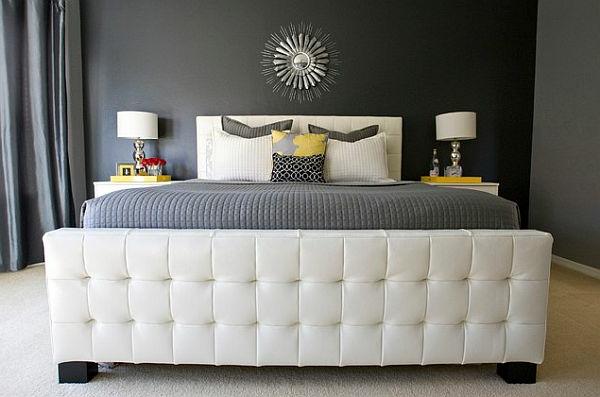 chambre-jaune-et-gris-design-unique