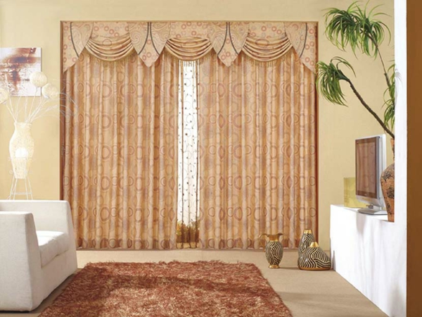 Design avec rideaux du luxe - Beaux rideaux salon ...