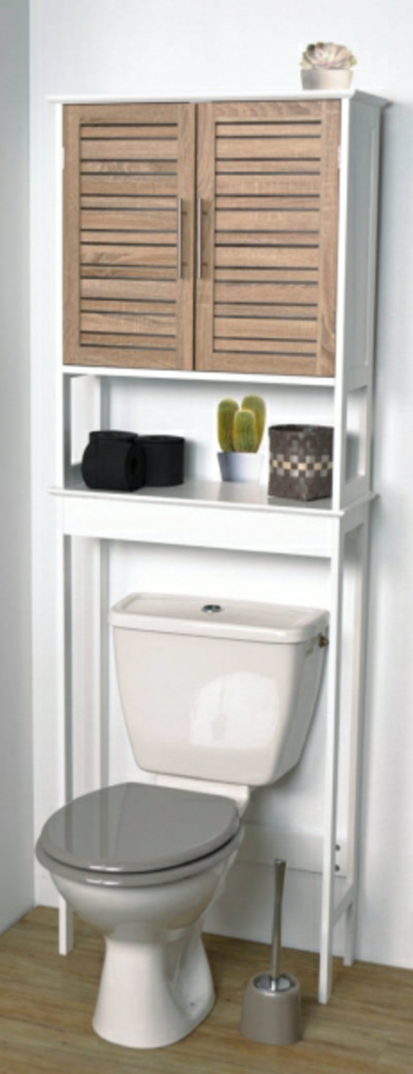 Le meuble wc for Meuble salle de bain wc