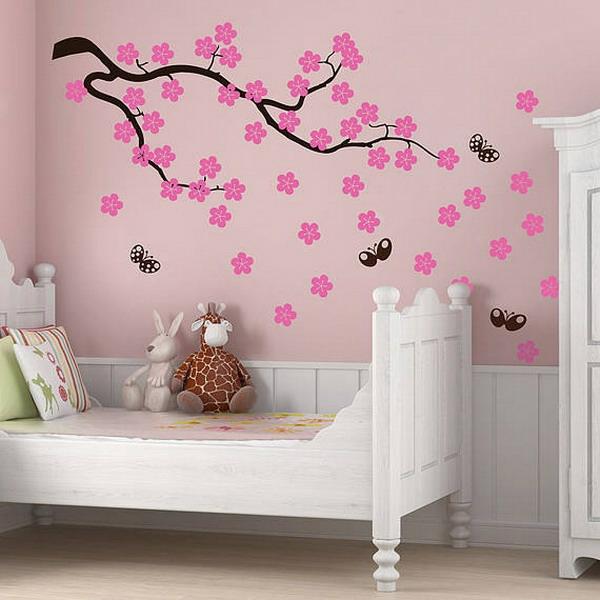 cool-idée-avec-un-arbre-japonais-stickers-pour-la-chambre-de-bébé