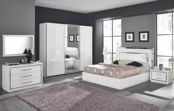Moderne chambre coucher compl te - Carrelage pour chambre a coucher ...
