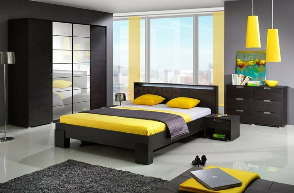 cool-design-pour-votre-chambre-en-jaune-que-vous-allez-adorer-avec-décoration-en-jaune