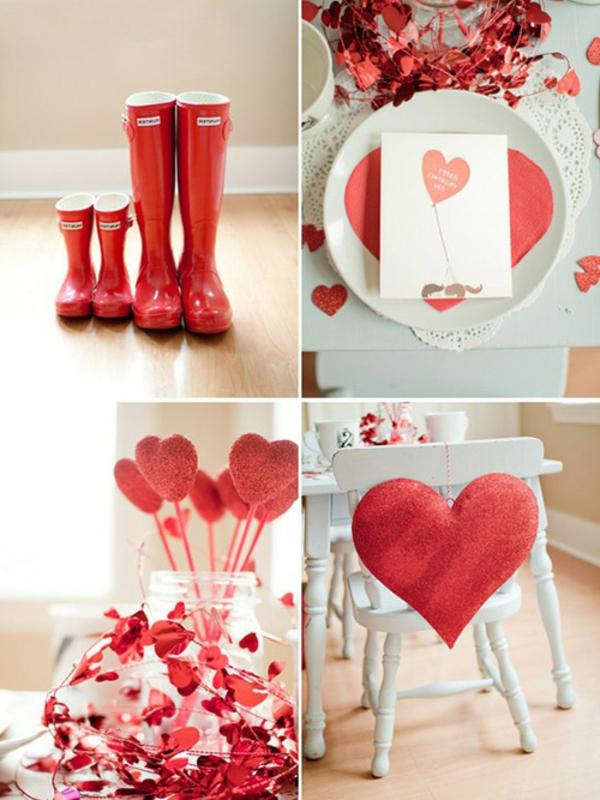 Une joyeuse saint valentin jouez avec la d co for Decoration st valentin