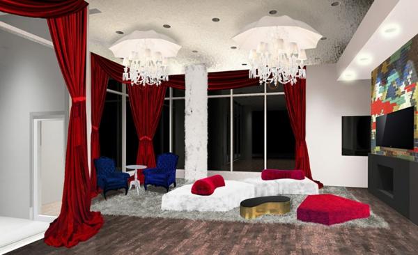 cool-design-unique-pour-idée-avec-des-rideaux-en-rouge-avec-deux-fauteille