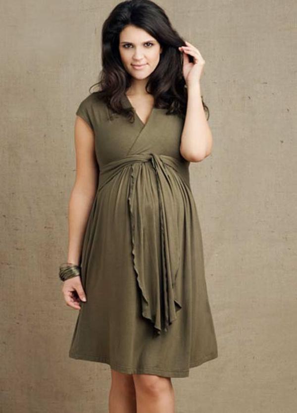 cool-design-vêtement-grossesse-en-vert