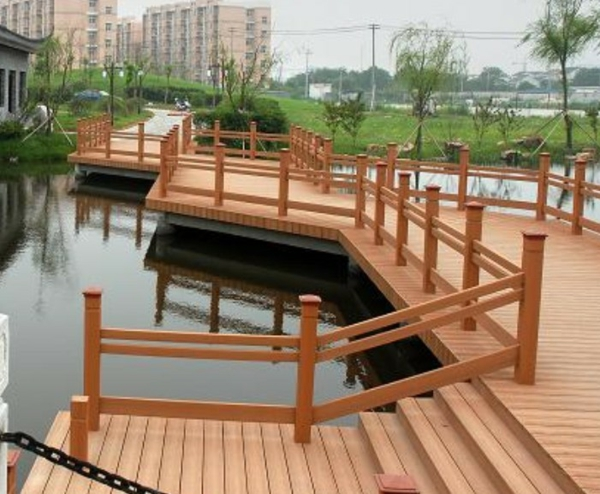 Faire une terrasse en bois composite - Lamelle composite pour terrasse ...