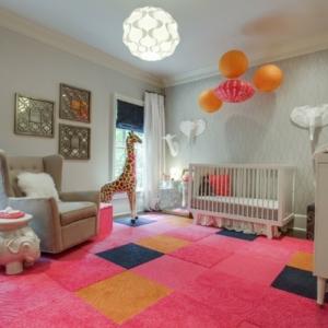 Le mobilier design d'enfant pour une chambre en gris