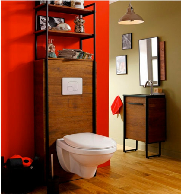peindre des toilettes. Black Bedroom Furniture Sets. Home Design Ideas
