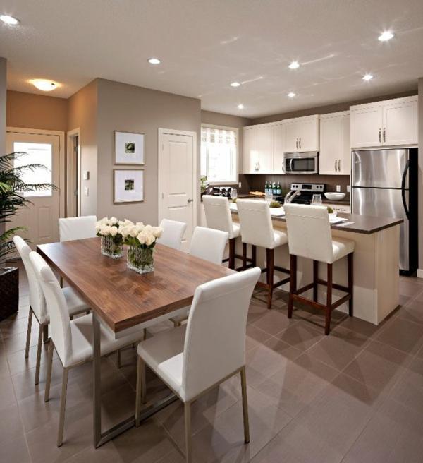 La cuisine ouverte sur la salle manger 55 photos for Solde salle a manger