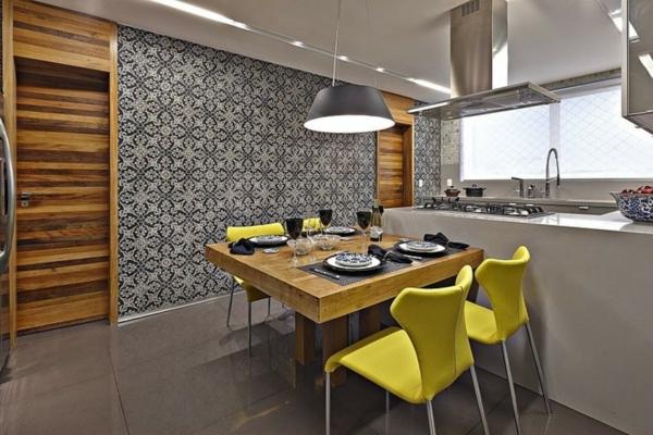 cuisine-ouverte-sur-la-salle-à-manger-cuisine-chic-et-moderne