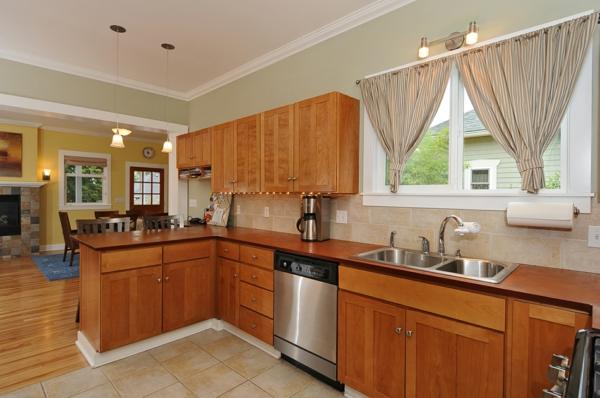 la cuisine ouverte sur la salle manger 55 photos. Black Bedroom Furniture Sets. Home Design Ideas
