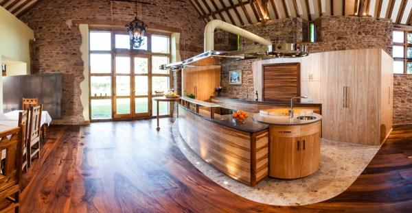cuisine-ouverte-sur-la-salle-à-manger-cuisines-trendy