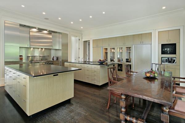 cuisine-ouverte-sur-la-salle-à-manger-design-spectaculaire