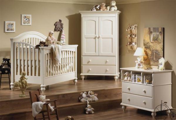 décoration-chambre-bébé-aménagement-bois-blanc