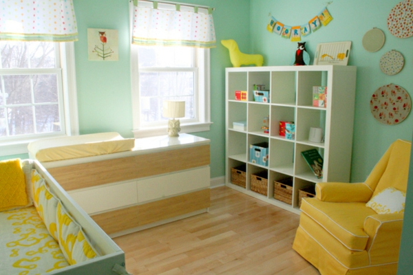 décoration-chambre-bébé-chambre-moderne-originale