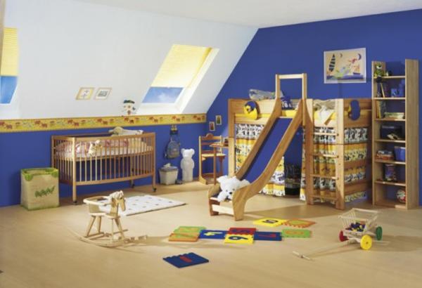 décoration-chambre-bébé-chambre-sympathique