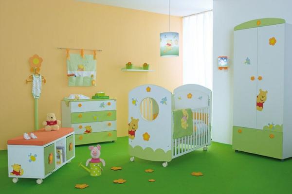 décoration-chambre-bébé-déco-Winnie-the-Pooh
