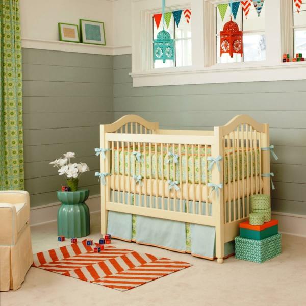décoration-chambre-bébé-déco-avec-lanternes-pendantes