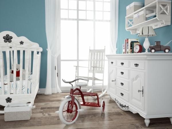 décoration-chambre-bébé-déco-avec-vélo