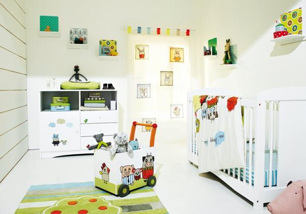 décoration-chambre-bébé-déco-fraîche-une-chambre-bébé-fantastique