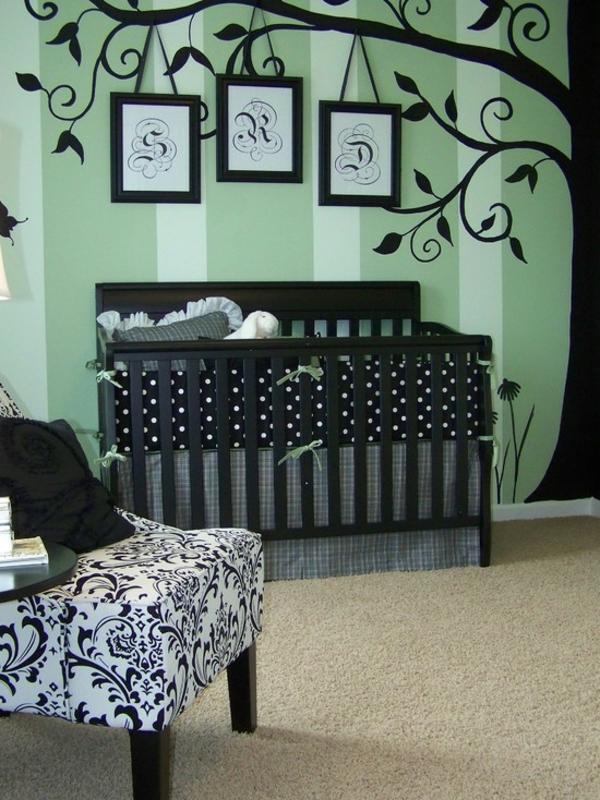 décoration-chambre-bébé-déco-murale-avec-sticker