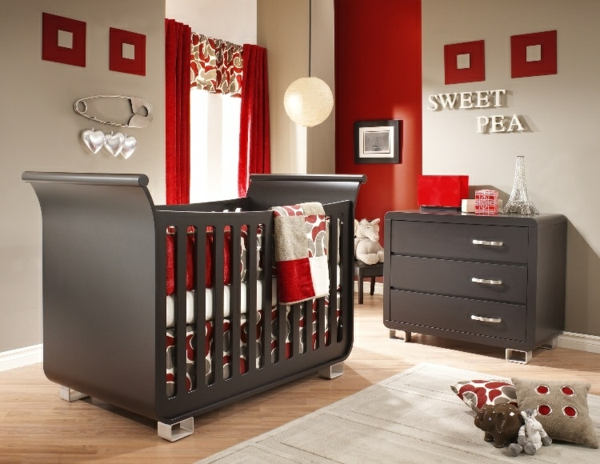 Best Chambre Bebe Rouge Et Beige Contemporary - Home Decorating ...