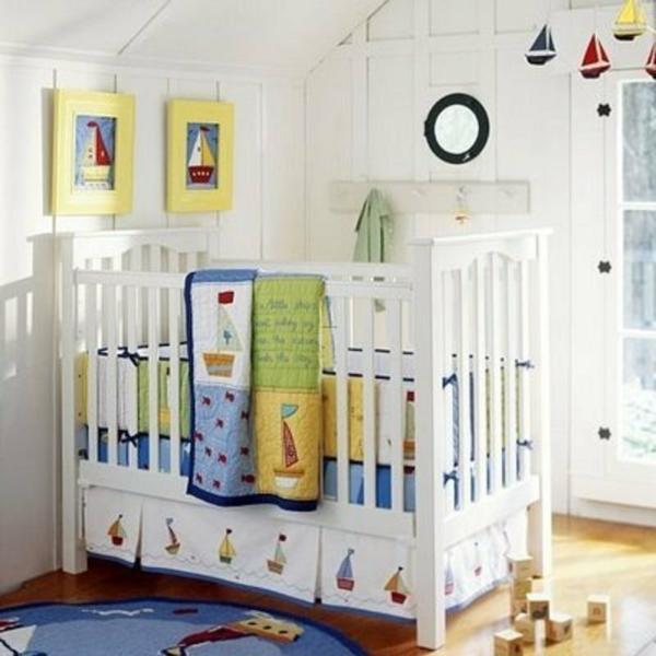 décoration-chambre-bébé-une-déco-à-thème-marine