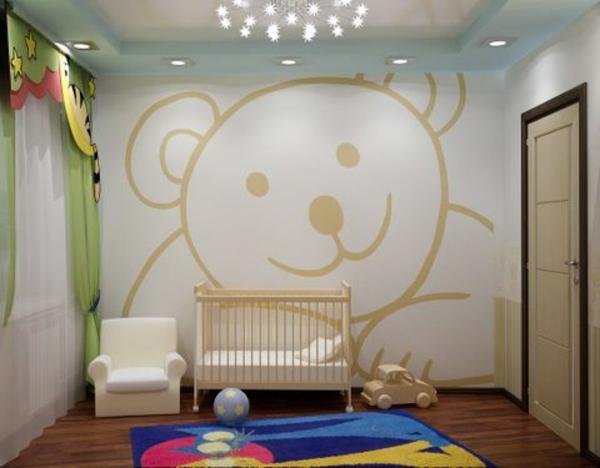 décoration-chambre-bébé-déco-ourson