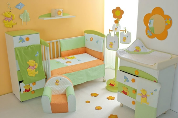 Awesome Chambre Orange Et Vert Bebe Gallery - Design Trends 2017 ...