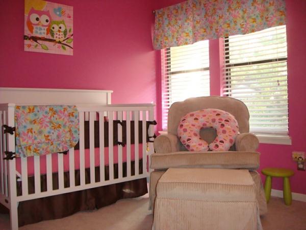 décoration-chambre-bébé-décoration-hiboux