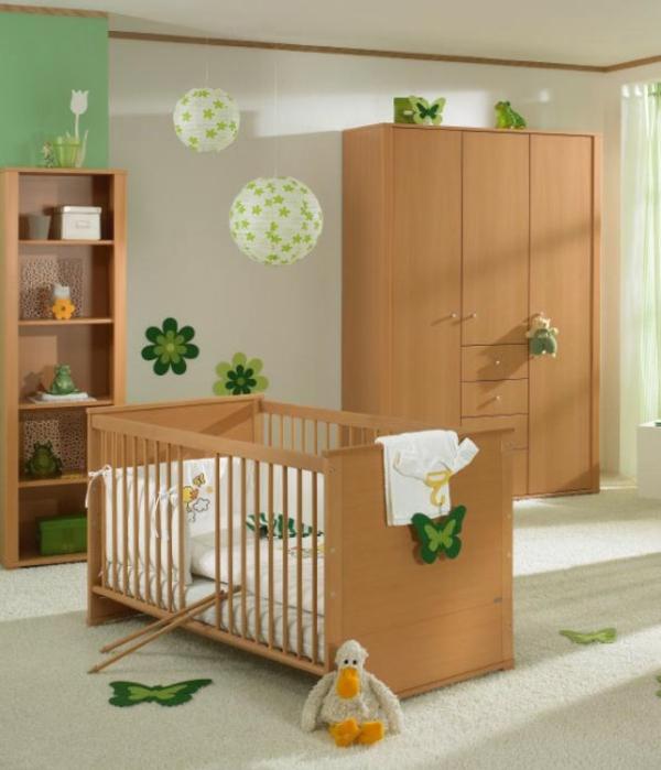 décoration-chambre-bébé-design-simple-et-beau