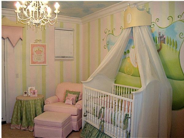 décoration-chambre-bébé-idée-déco-de-petite-princesse