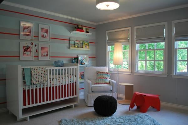 décoration-chambre-bébé-jolie-chambre-bébé-contemporaine