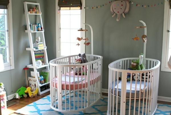 décoration-chambre-bébé-jumeaux