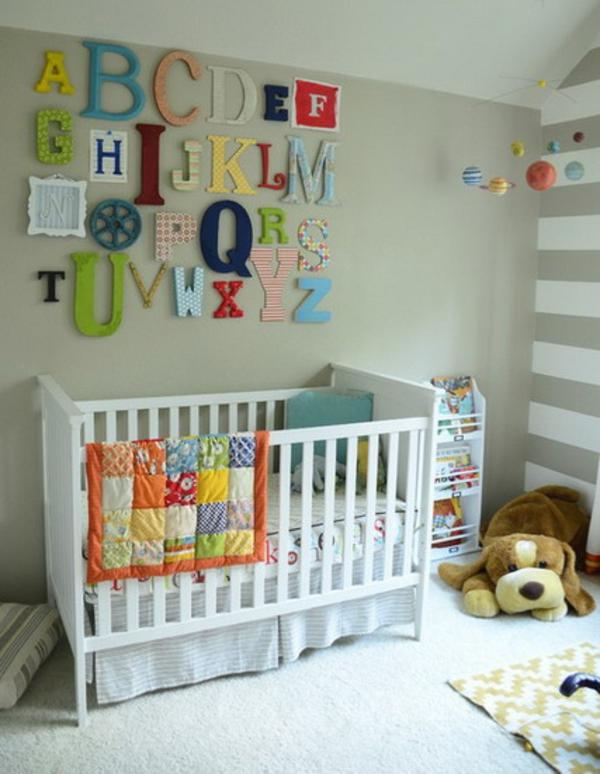 décoration-chambre-bébé-l'alphabet