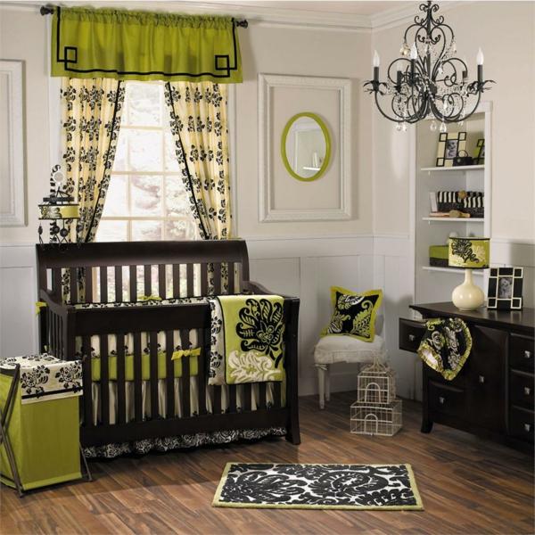 décoration-chambre-bébé-motifs-baroques