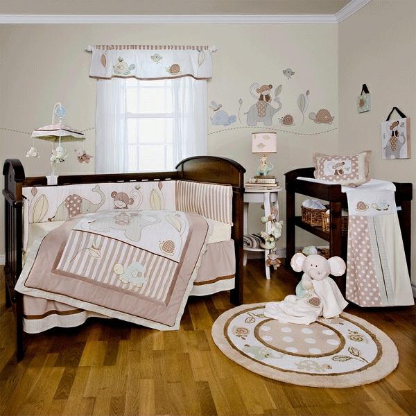 décoration-chambre-bébé-motifs-les-animaux-d'Affrique