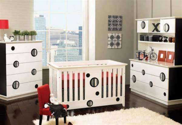 décoration-chambre-bébé-un-tapis-blanc-moelleux