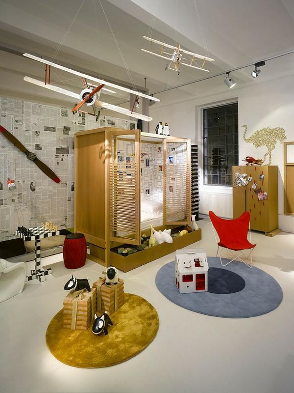 décoration-chambre-bébé-une-chambre-bébé-moderne-originale