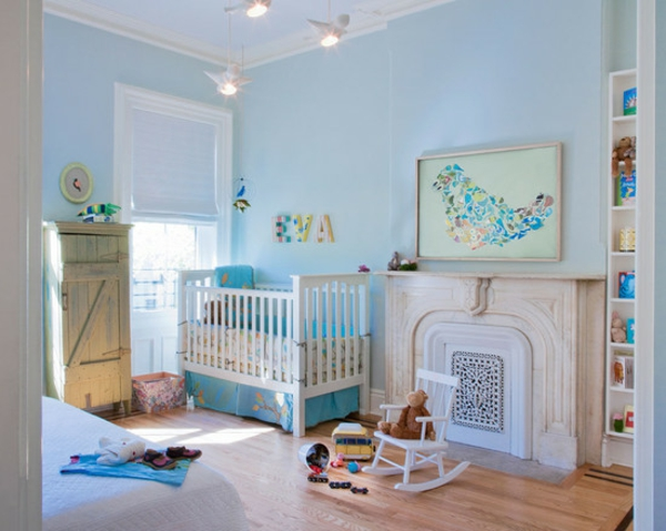 décoration-chambre-bébé-une-chambre-bleue
