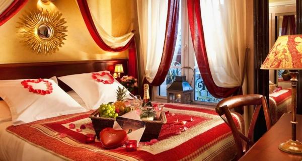 decoration-saint-valentin-pour-votre-chambre-à-coucher
