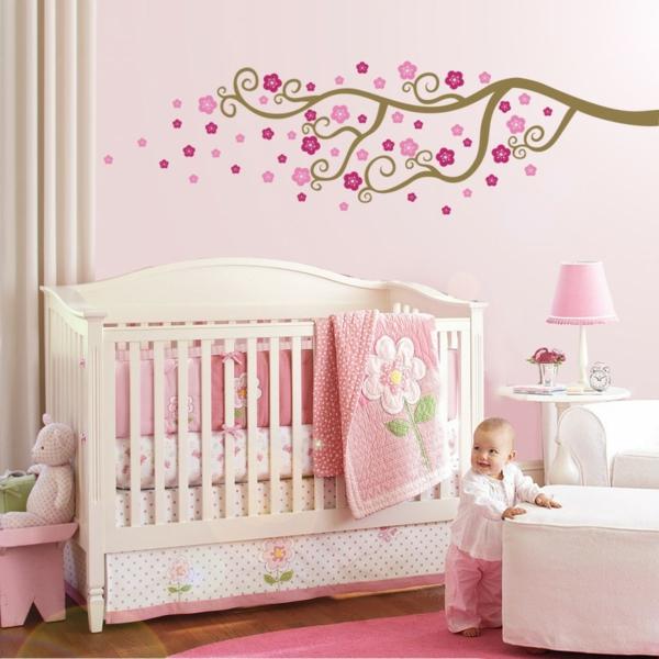 Stickers pour la chambre de b b arbre for La chambre de bebe