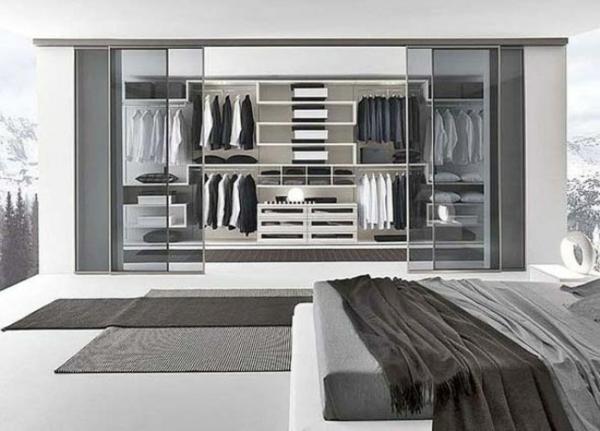 gris-porte-coulissante-de-dressing-et-design-de-chambre-à-coucher