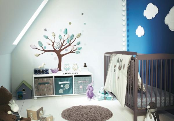 jolie-et-mignon-design-d'intérieur-pour-la-chambre-du-bebe