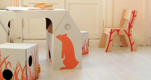 jolie- mobilier enfant écologique-pour-la-chambre-enfant