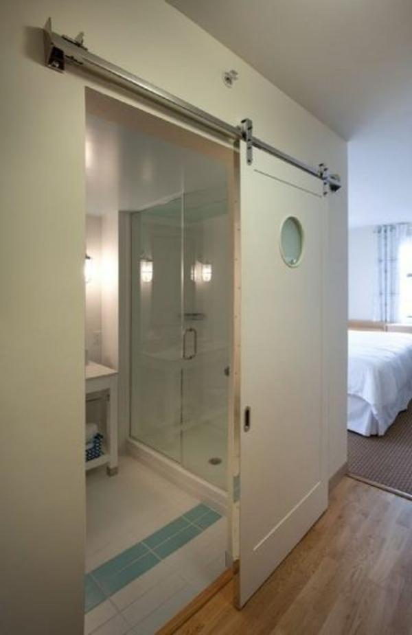 La porte coulissante pour la salle de bain for Salle de bain jolie